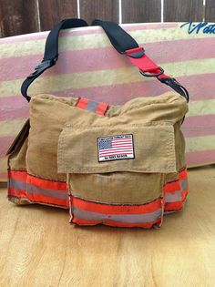 Hey, I found this really awesome Etsy listing at https://www.etsy.com/listing/158581800/firefighter-diaper-bag