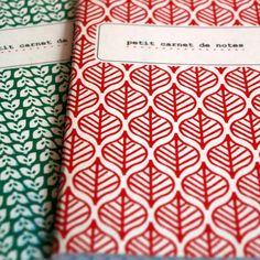 deux jolis carnets #notebooks #handicrafts