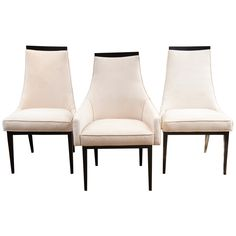 Set of 8 H. Probber Dining Chairs, 2 Arm,  6 Side | From a unique collection of antique and modern dining room chairs at http://www.1stdibs.com/furniture/seating/dining-room-chairs/