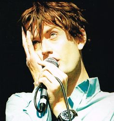 Jarvis Cocker, performing with Pulp