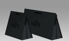 KAPE Shopping Bag by Fazil KV, via Behance