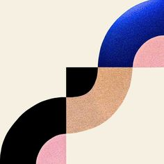 More proof that our love for organic shapes has begun to outpace our affection for geometrics — while we love both types of patterns employed in the work of Berit Mogensen Lopez, a Danish textile designer, we're more partial to the rounded, overlapping, abstract fields seen at the top of this post and throughout.