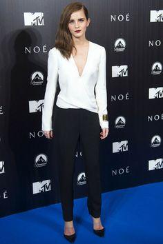 Emma Watson in a J Mendel jumpsuit - best dressed