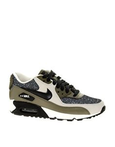 d5d4ddc1af8e Image 1 of Nike Air Max 90 Black Sneakers Nike Trainers