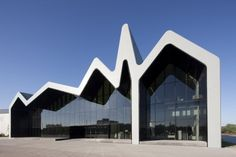 Riverside Museum by Zaha Hadid in Glasgow, Scotland