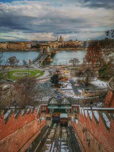 Budapest, Railroad Tracks, Train Tracks