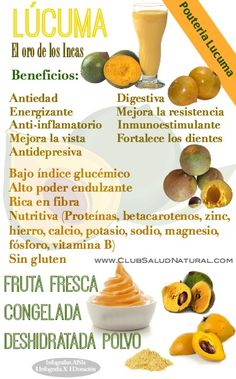 Lucuma Beneficios del Dulce Oro de los Incas - Club Salud Natural