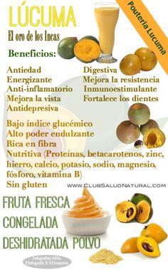Lucuma Beneficios del Dulce Oro de los Incas - Club Salud Natural