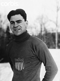 Charles Jewtraw grew up near Lake Placid, New York and became the first gold medalist of the Winter Olympics by winning the opening event of the first Winter Olympic Games in Chamonix 1924: the 500 m speed skating.