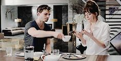 Fifty Shades of Grey. ~  LOVE this clip of Christian Grey and Ana Steele! <3