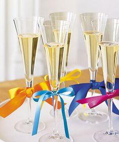 Faça você mesmo   Marcadores de taças para decorar seu casamento