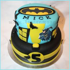 batman birthday cakes | Batman cake