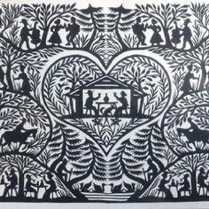scherenschnitte - paper cutting craft from colonial Pennsylvania Origami, Paper Cutting, Cut Paper, Paper Art, Paper Crafts, German Folk, Paper Cut Design, Mandala, Jewish Art
