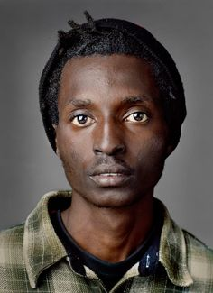 'Down and Out in the South' by Jan Banning. It's amazing how much I read into this photo- something in the eyes tells me he's an immigrant. Am I right? Don't know- but a story is question that gets answered.