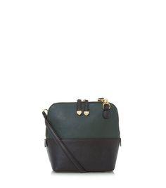 268d3f5a36 Dark Green Colour Block Across Body Bag. Color BlockingColour BlockGreen  ColorsSmall BagsAcross ...