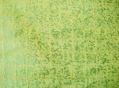 Vintage Upholstery Fabric - Lime Green