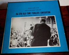 THE 37TH OLD-TIME FIDDLERS CONVENTION AT UNION GROVE, NC // 1962 FOLKWAYS LP #Bluegrass