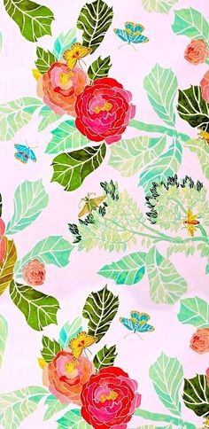 Imprimolandia: Floral walpaper printable