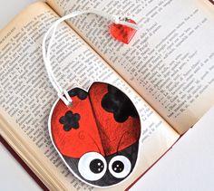 Zoo - Ladybird - Bookmark. €9.40, via Etsy.