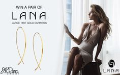 J. R. Dunn Jewelers is giving away a pair of Lana 14k Gold Upside Down Hoops. Enter today! The more shares the more chances you have to win. I Love @JRDunnJewelers #ilovejewelry