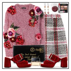 """All In Fun"" by winscotthk ❤ liked on Polyvore featuring Gucci, Carven, Dolce&Gabbana, Yves Saint Laurent, Finery London, Clinique, Lipstick Queen and Givenchy"