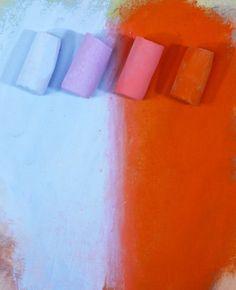 Pastel Pointers   Visual Bridging on http://www.artistsnetwork.com