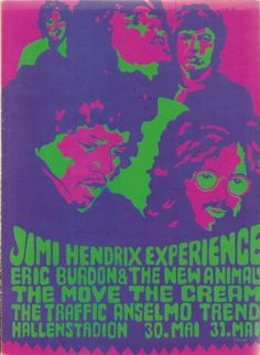 simplybek:    Monsterkonzert, 1968  except Cream dropped out and John Mayall and the Bluesbreakers played