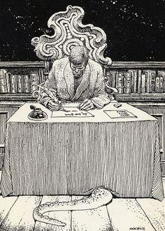 Hoy queremos rendir un pequeño homenaje a uno de los mejores narradores de terror de la historia, un escritor que se atrevió a contar aquellas cosas que ningún otro supo enfrentarse y profundizando en ellas hasta límites casi aberrantes, creador de su mitología propia a través de los mitos Cthulhu, el original deProvidence, Howard Phillips Lovecraft. Una recopilación de ilustraciones sobre el autor y su fantástico mundo de horror y ficción que esperamos no os hagan perder cordura.  Juan…
