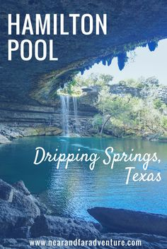 Take a look at our visit to the Hamilton Pool Preserve in Dripping Springs, Texas.