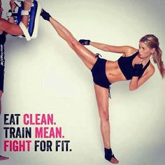 eat clean, train mean