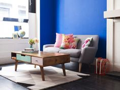 Go Bold With These 20 Colorful Coffee Tables via Brit + Co