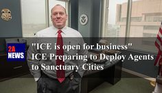 """""""ICE is open for business"""" - ICE Preparing to Deploy Agents to Sanctuary Cities.  The ICE is preparing to deploy thousands of agents to sanctuary cities as part of a national crackdown on illegal immigration authorized by the Trump Administration.  https://2anews.us/?p=6149  #ICE, #Illegal_Immigration, #Law_Enforcement, #Sanctuary_Cities, #Thomas_Homan, #Trump, #Illegal_Immigration, #Law_Enforcement_Crime_Prevention"""