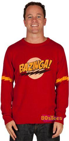 Bazinga sweater...yes please!