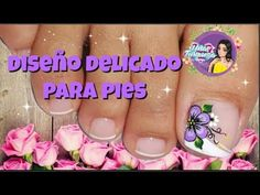 Decoración de uñas para PIES Flor/diseño uñas Pies - YouTube 3d Nail Designs, Magic Nails, Toe Polish, Nail Art Videos, Learn Art, Toe Nail Art, 3d Nails, Pedicures, Google