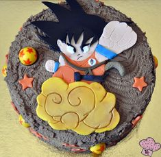Tarta Son Goku - Dragon Ball Cake
