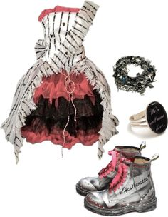 """Alice in Wonderland"" by bvb3666 ❤ liked on Polyvore"