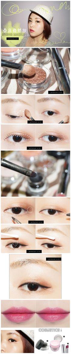 #MAKEUP #Asian #korea http://eyecandyscom.tumblr.com www.AsianSkincare.Rocks