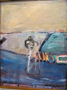 Richard Diebenkorn, Bottles, 1960. Norton Simon
