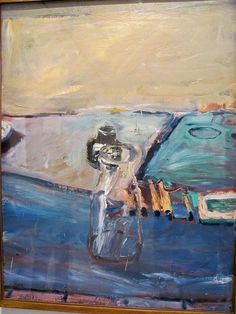 Richard Diebenkorn, Bottles, 1960. Norton Simon