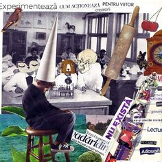 Experimenteaza cum actioneaza pentru viitor creatorii  Colaj despre educatie in stil Pink Floyd. Inspirata de faimoasa lui melodie #wedontneednoeducation  #collage #collageart #artwork #myart #education #expression #art