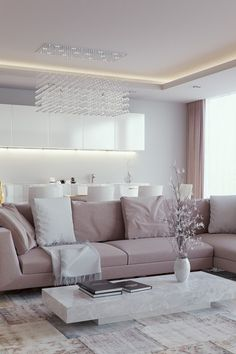Contemporary Living Room by Eduard Căliman Depicting a Luxurious Lifestyle | mwear