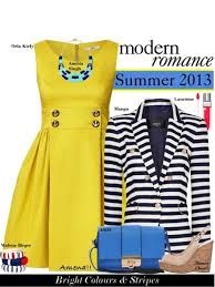 Yellow and navy - great combination! #summer #nautical #frocks