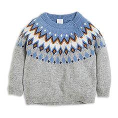 En mjuk, mysig och värmande tröja med ett klassiskt mönster i härliga färger.