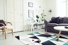 matto, olohuone, värit