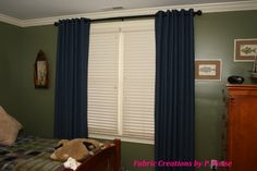 Grommet Top Panels by Fabric Creations