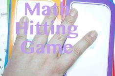 Math Hitting Game is a great way to learn addition. Helps kids keep track of their numbers and learn new ones.