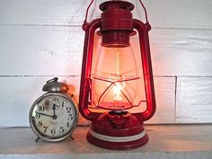 Nautical Lantern Repurposed as Electric Plug In by searchnrescue2