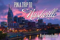 "Show us your idea of an ""Only in Nashville"" getaway and be entered to win a trip to Music City!  http://www.visitmusiccity.com/pinatrip  #OnlyInNashville"