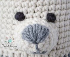 crochet teddy bears Long awaited Amigurumi Eyes Embroidering Tutorial is finally here! When creating my Cover and Play Teddy Bear AmiBlanket (the blanket that turns into Amigurumi) Crochet Eyes, Crochet Teddy, Crochet Bunny, Crochet Patterns Amigurumi, Crochet Dolls, Crochet Stitches, Amigurumi For Beginners, Crochet For Beginners, Crochet Gifts
