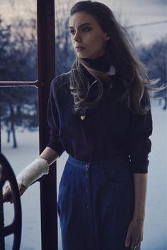 Double Magazine photogrpahy Theo Wenner stylist aren Langley model Ondria Hardin